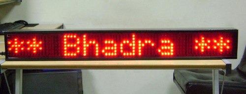 pizarras led, pantallas led, relojes, lamparas, semáforos