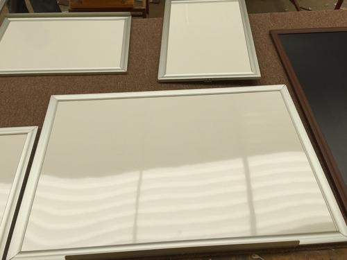 pizarrón blanco. 60x1.20 somos fabricantes