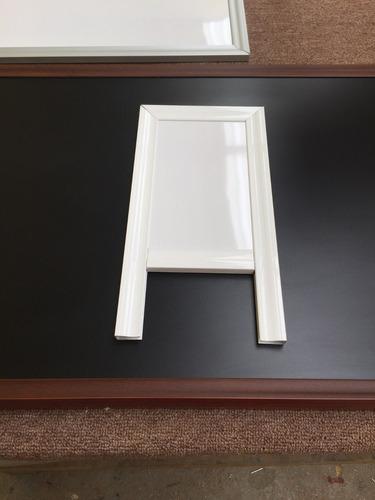 pizarrón blanco. cualquier medida. fabrica 40cm x 60cm