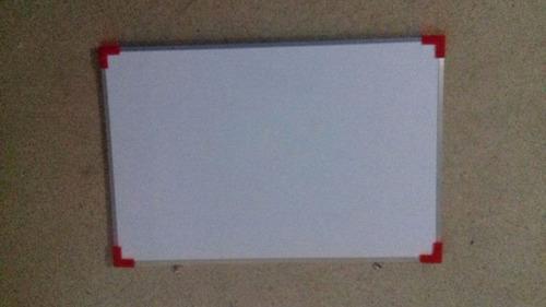 pizarron blanco para escuela 30x40 con marco de aluminio