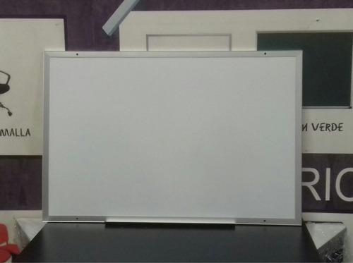 pizarron blanco para plumon medidas 90 x 120 cm