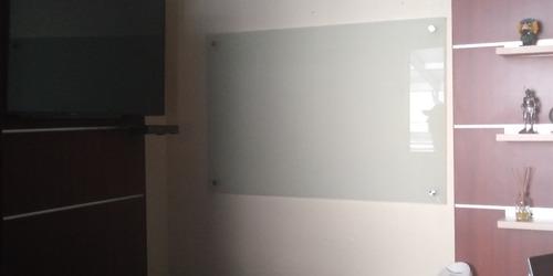 pizarrón de cristal templado esmerilado 60 x 90