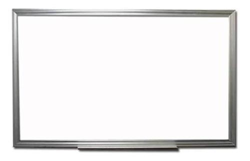 pizarron pintarron blanco plumon 60 x 90 cm escuela aluminio
