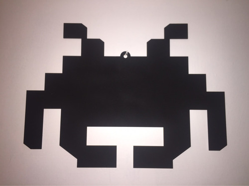 pizarron space invaders