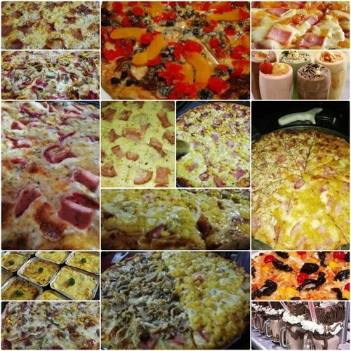 pizza jugos y batidos