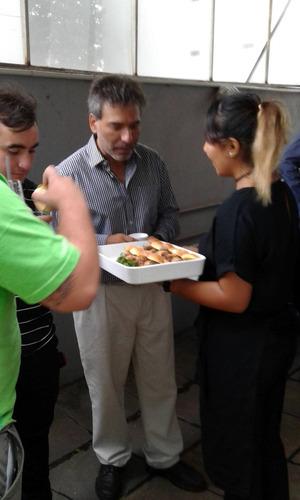 pizza party a la parrilla-barra de tragos