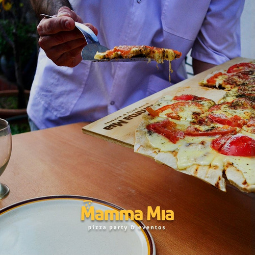 pizza party a la parrilla ( mamma mia)