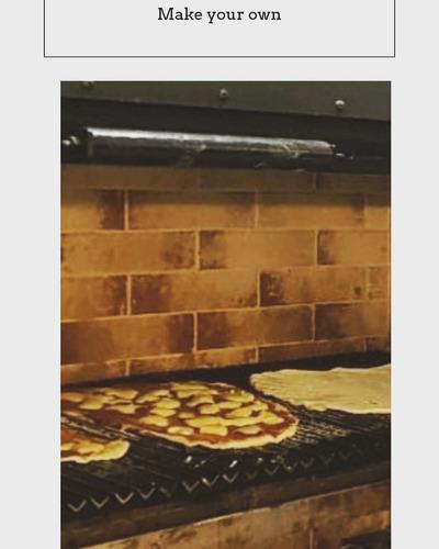 pizza party a la parrilla o a la piedra