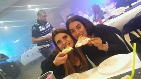 pizza party + canilla libre + dj $240 x persona