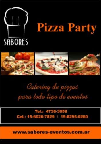 pizza party catering eventos