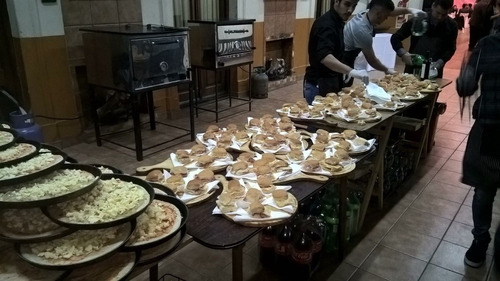 pizza party catering eventos fiesta