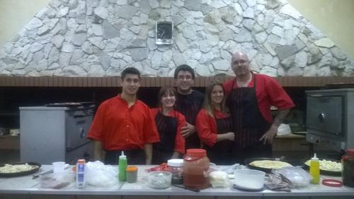 pizza party catering show musical salon mataderos domicilios