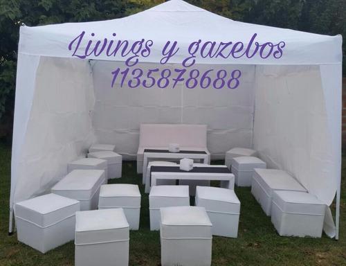 pizza party, empanada party, alquiler livings,gazebos. z/sur