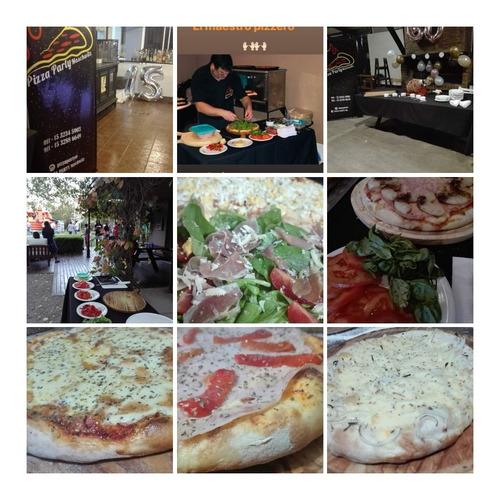 pizza party , empanadas y pernil