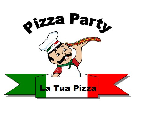 pizza party. la tua pizza.