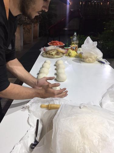 pizza party libre catering evento fiesta pernil lunch