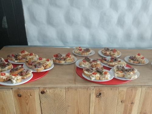 pizza party libre y pernil de cerdo. zona sur