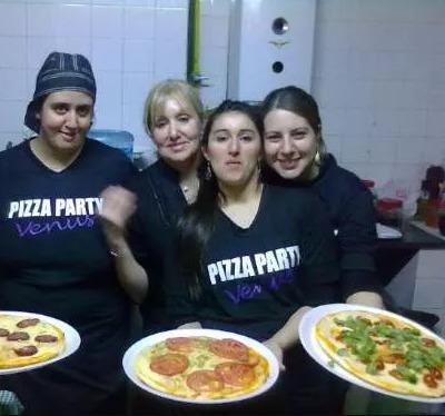 pizza party/ picadas / finger food / lunch eventos venus