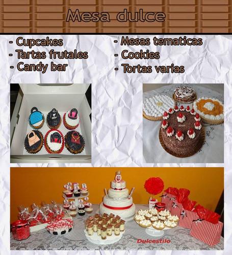 pizza party, servicio de lunch, tortas, mesa de dulces,.....