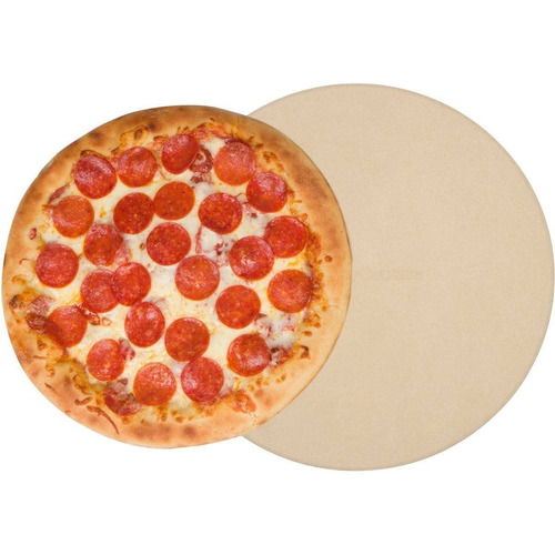 pizza stone para cocinar asar a la parrilla - + envio gratis