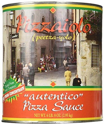 pizzaiolo pizza salsa autentico nº 10 can (6 lb 8 oz)