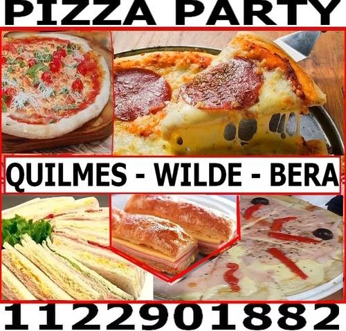 pizzaparty alquilervajilla disc jockey quilmes berazat wilde