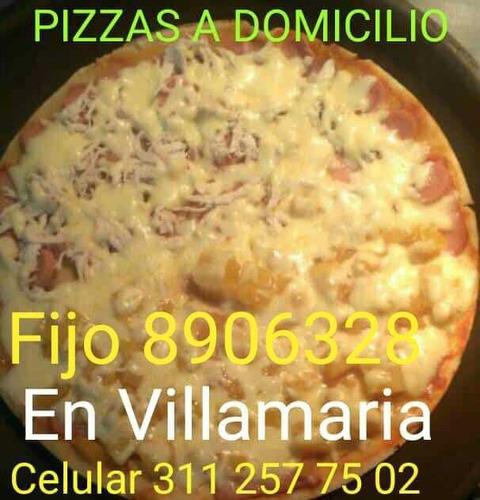 pizzas a domicilio villamaría