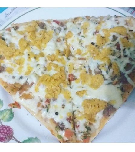 pizzas, donas, tortas por porción por encargo