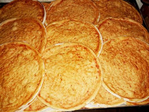 pizzas pre cocidas 30 cmm , envío sin costo