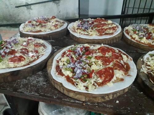pizzas y calzones a la parrilla!! reyes de las pizzas
