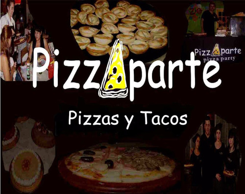 pizzas y tacos party. pernil, bebidas,