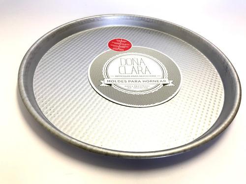 pizzera doña clara n°7 (34 cm) chapa aluminizada