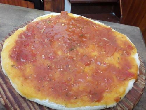 pizzetas artesanales si conservantes si preferis te las elab