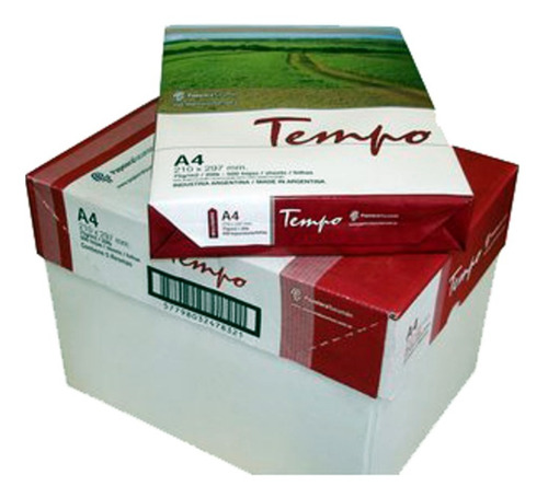 pk 5 resmas a4 tempo fsc 75 grs. shure papers