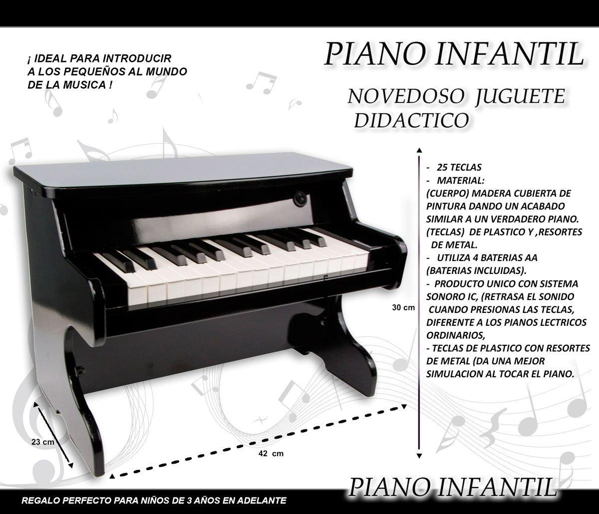 Baratos Niñas Teclas Piano Juguetes 1061 4jqrl3a5c Madera Pk Niños wPn80OkX