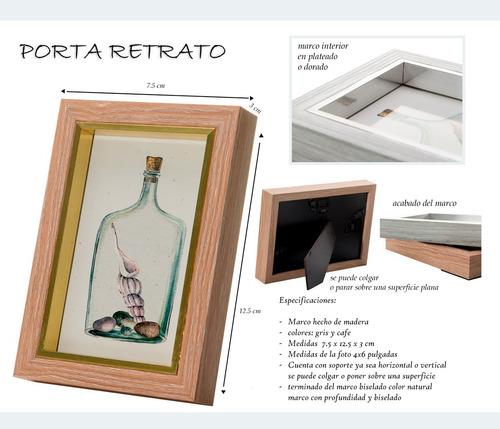 pk portaretrato madera 4x6 cuadros decorativos oficina fh560