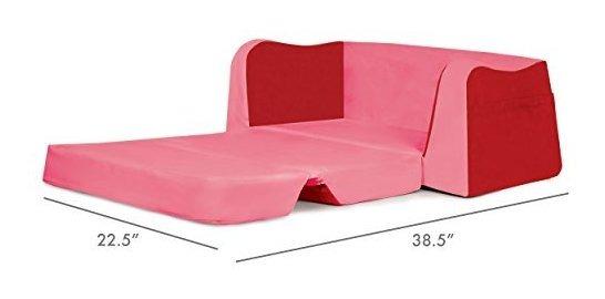 Stupendous Pkolino Little Reader Sofa Red Download Free Architecture Designs Sospemadebymaigaardcom