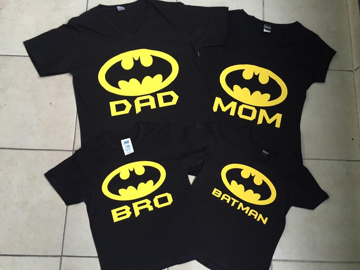 Pkt 3 Playeras Familia Batman Día Del Padre Personalizadas -   415.00 en Mercado  Libre e4aff38dc820c