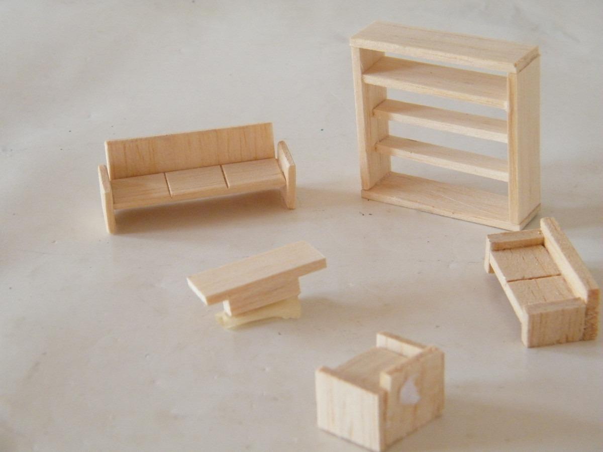 Pkt mobiliario para maquetas sala 1 50 en for Muebles a escala 1 50 para planos