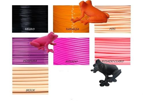 pla filamentos plásticos impresión 3d 1kg impresoras 3d