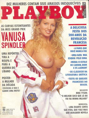 plaboy - vanusa spindler - jun 1989