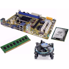 Placa 1155+micro I5+4g Ram+fans