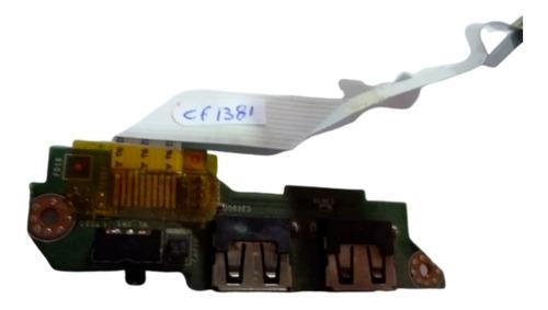 placa 2 puertos usb de netbook lenovo s10-3c bh5999a
