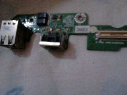 placa 2x usb daodm1p8d3 ps2 dell latitude d505