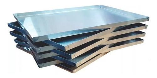 placa 30x40 - asadera -  bandeja de aluminio 30x40x2
