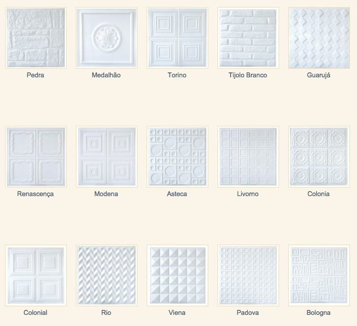 Placa 3d em pvc forrorama para parede 1mt2 tijolo r 32 for Placas de pvc para paredes