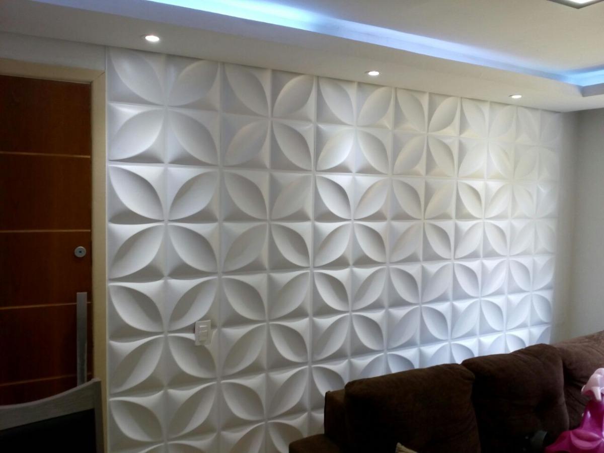Placa 3d pvc auto adesiva p tala 50x50cm poliestireno 1 for Placas de pvc para paredes