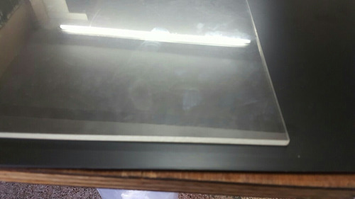 placa acrilico cristal 12 cm x 12 cm x 10 mm