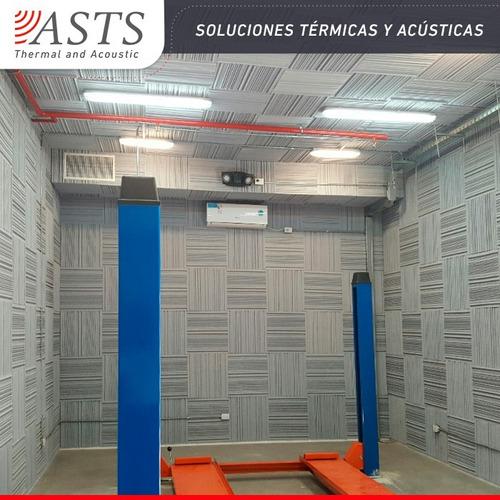 placa acústica panel ignífugo sonido 20mm asts proa1 61x61cm
