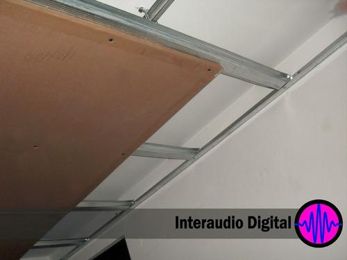 Placa aislante sonido aislamiento ac stico de muro y - Precio aislamiento acustico ...